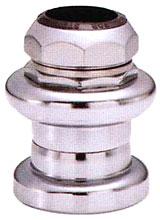 Рулевая стальная набор 1-1/8 серебряная, резьбовая