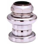 Рулевая стальная набор 1-1/8 серебряная, резьбовая -