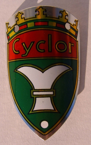 шильдик Head Badge Cyclor