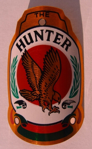 шильдик Head Badge Hunter