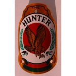 шильдик Head Badge Hunter -