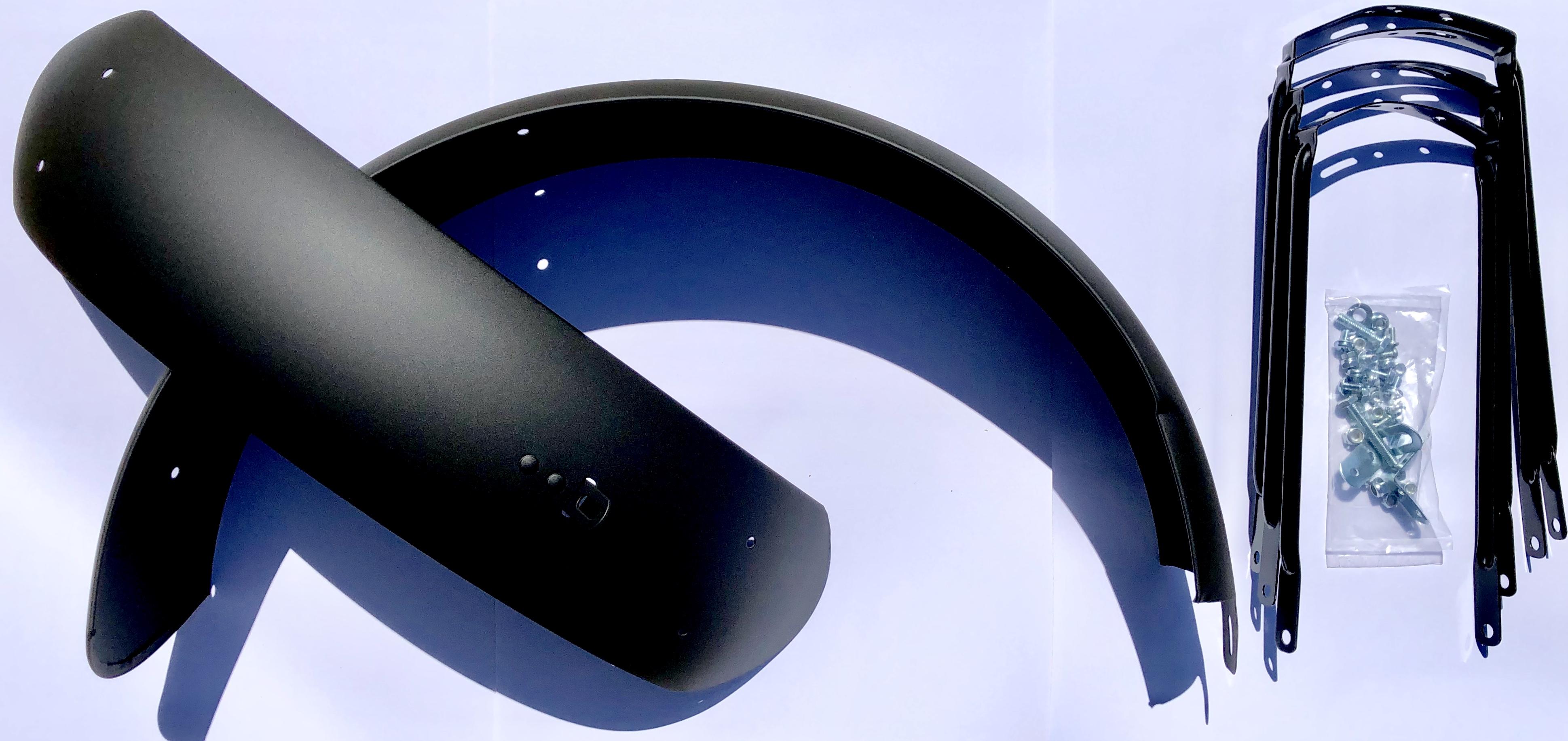 Крылья 20 х 123 мм , черные