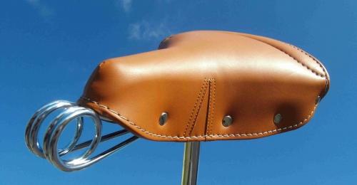Седло Vintage 1977 коричневое