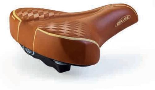 Седло круизерное 3010 retro deluxe светло коричневое