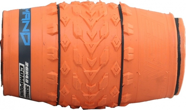 покрышка VeeTire 26x4.0 MISSION COMMAND Folding Orange