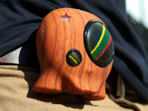 boombotix 2 wood grain