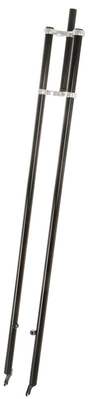 Вилка Extra long Double Crown Fork 140 black 1 1/8 steerer