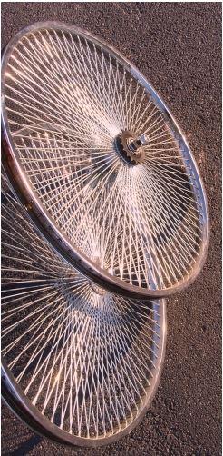 Комплект колес 26 дюймов на 140 спиц