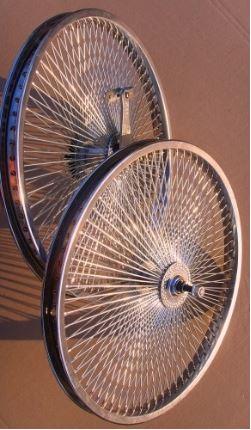 Комплект колес  20 дюймов на 140 спицы