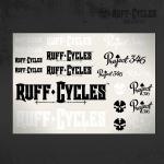 Наклейки Ruff Project 346 -