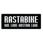 "нашивка ""rastabike - one love - kustom love"" 10смх4см"