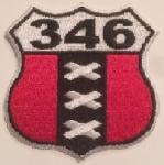"нашивка ""Amsterdam 346"""