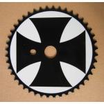 """Звезда Lowrider 44зуб., под BMX систему, с рисунком """"Мальтийский"""