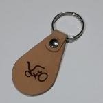"""Брелок на ключи """"R.A.S.T.A.Bike"""", бежевый"""