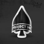 """Наклейка-шильдик """"Project 346"""""""
