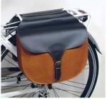 "Ретро сумка на багажник ""Retro Carrier"", черно-коричневая"