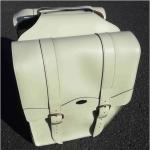 Ретро сумка на багажник , creme