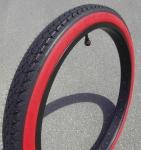 """Покрышка """"Street KING"""" Cruiser Redwall Balloon Tire 26 x 2.125"""